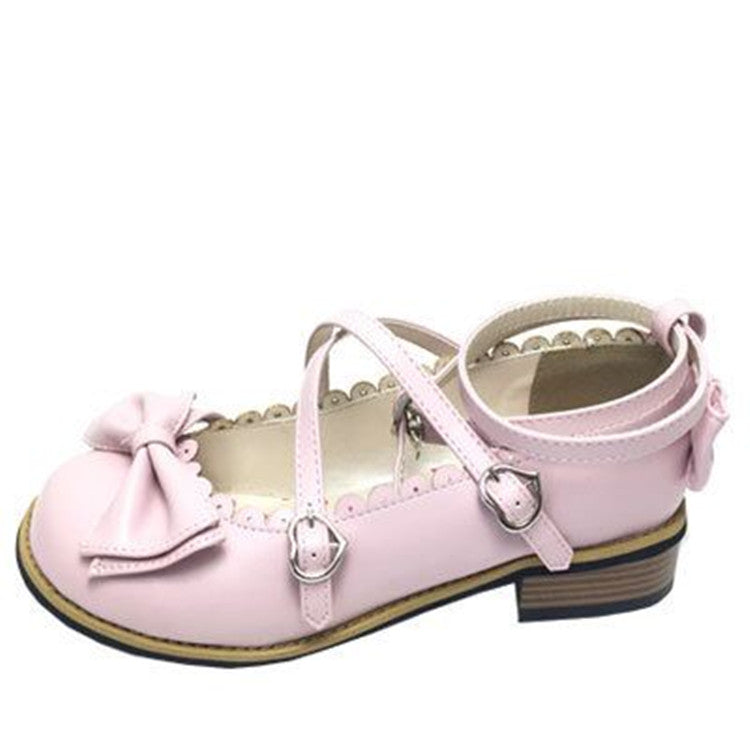 Lolita bow cute princess flats YC20242