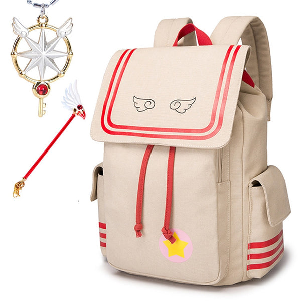 Magic Card Girl Sakura COS Backpack YC20273