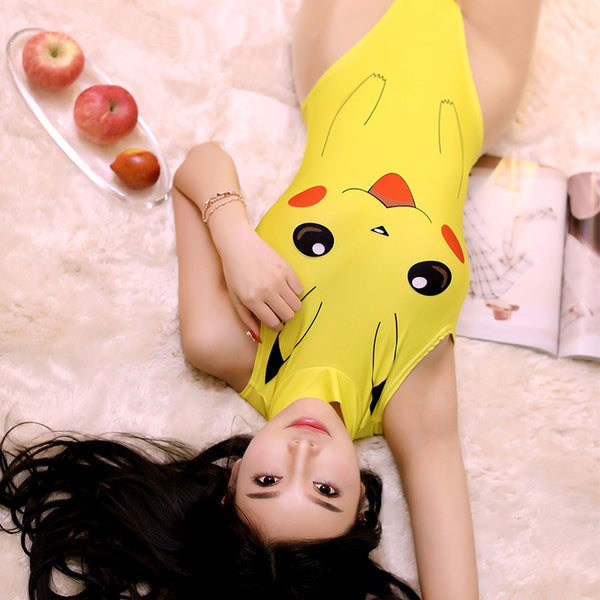 Cute Pikachu Cosplay Sexy Swimsuit YC20162