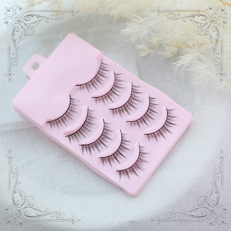 Lolita natural false eyelashes yc20528