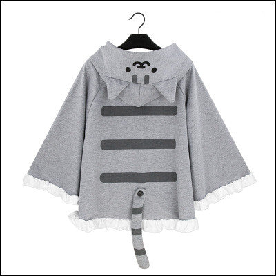 Cat Backyard Cloak Sweater Jacket YC20093