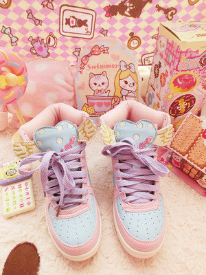 Japanese Cute Cartoon Shoes yc21022
