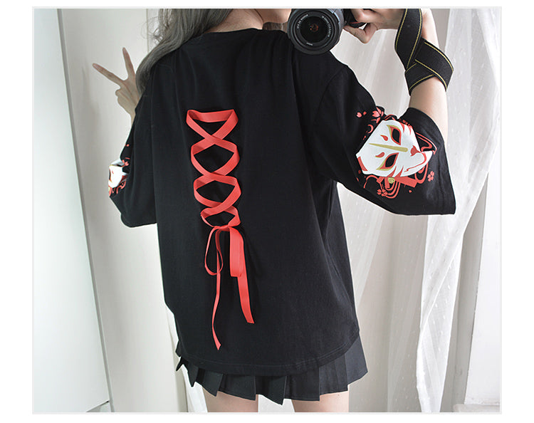 Cute Fox Strappy T-Shirt YC20085