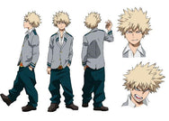 My hero academia cos wig YC20318