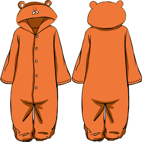 Cute animal plush pajamas yc20550