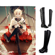The Angel of End cosplay High boots YC20355