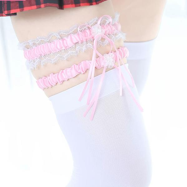 Lace leg strap (2 pieces)     YC21410