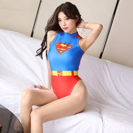 American Superman Cosplay Swimsuit YC20161