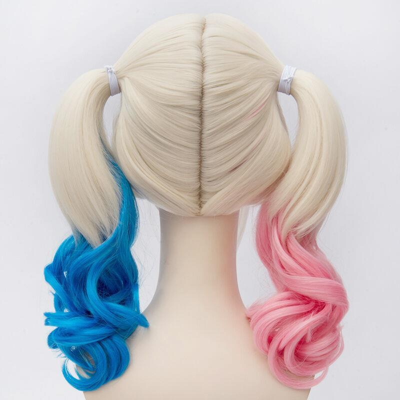 Cute dyed gradient double ponytail cosplay wig YC20178