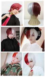 My Hero College Mixed Color COS Wig YC20321
