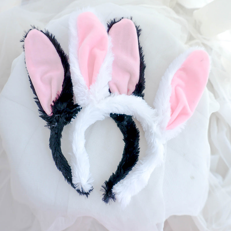 Plush rabbit ear headband  YC20181