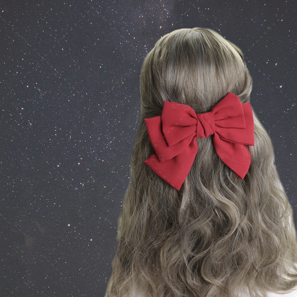 1 pair Lolita bow hair clip yc20671