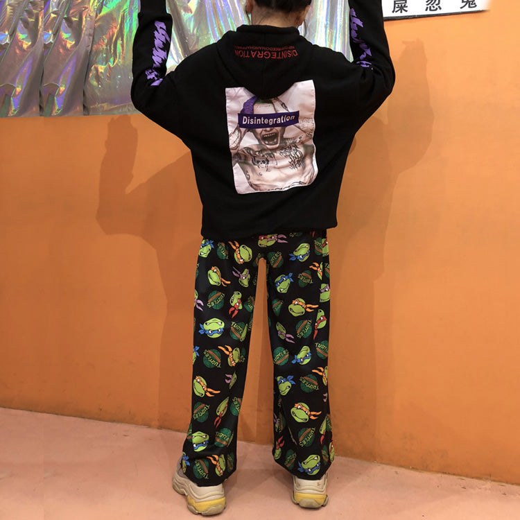 Harajuku TMNT Cartoon Pants yc22542