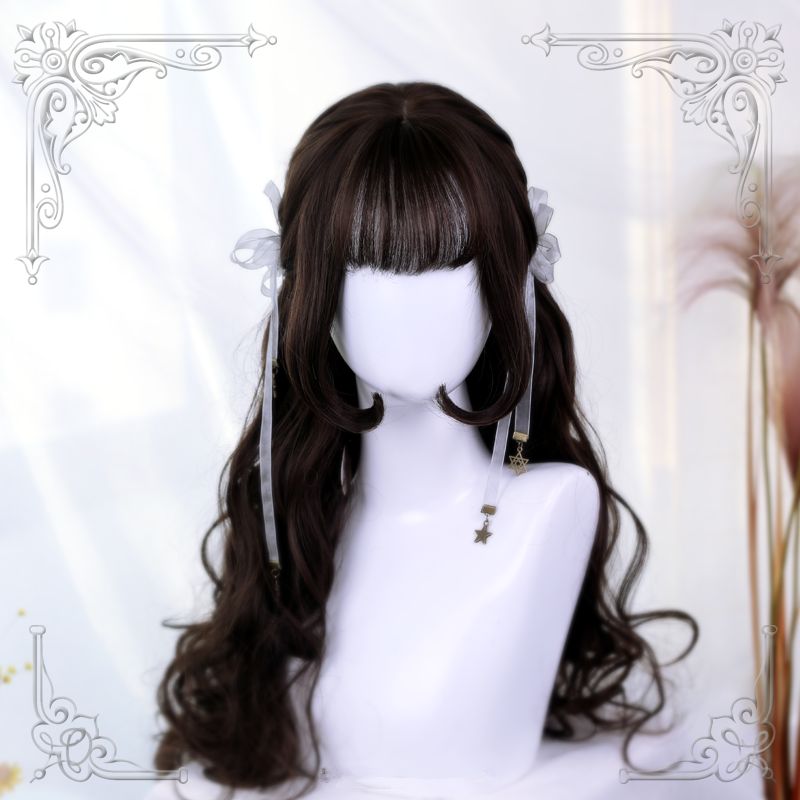 Lolita long curly hair wig yc20553