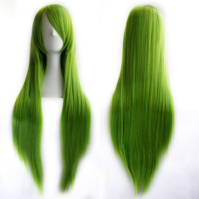 Cute cos wig long hair 80cm YC20223
