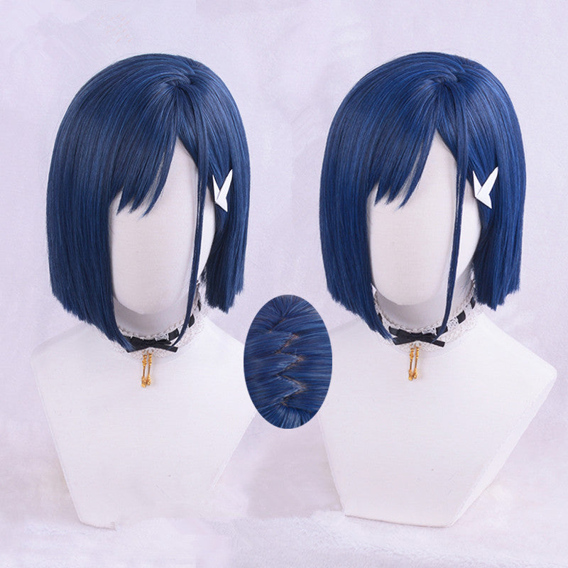 cosplay blue wigs yc20573