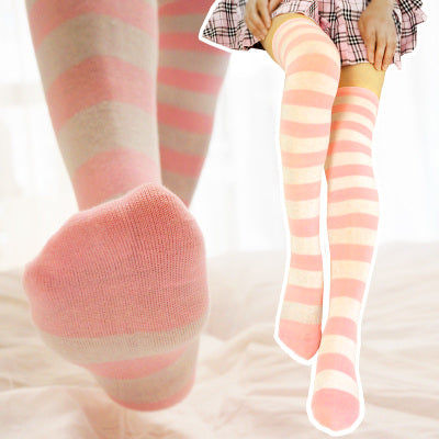 Cosplay striped socks yc20491