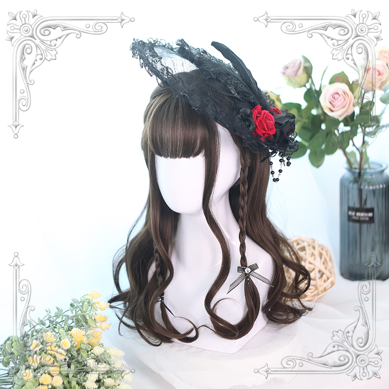 Lolita cos brown wig yc20532