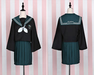 Cosplay sailor suit + pleated skirt yc20586