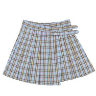 Harajuku Plaid Pleated Skirt YC20480