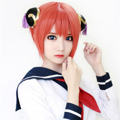 Cosplay orange wig yc20583