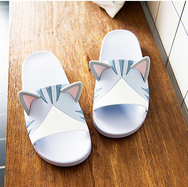 Cute cat dog slippers yc20666