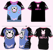 Overwatch DVA cos T-shirt yc20811