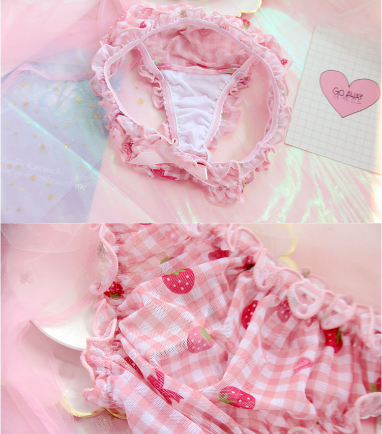 Cute Strawberry Underwear yc21029