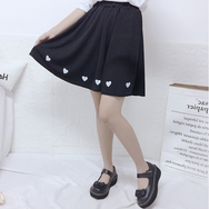 Japanese cute love skirt yc21142