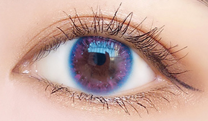 Pink contact lenses (two pieces) YC21856