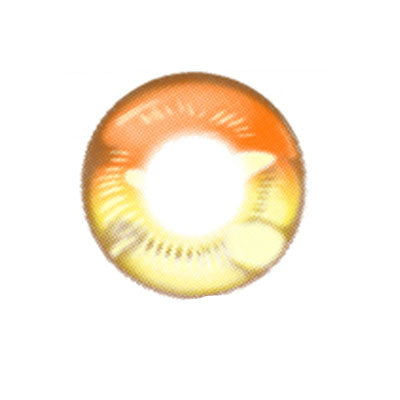 COSplay Orange(Two piece)Contacts Lens yc20754