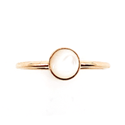 Mother of Pearl Medium Ring