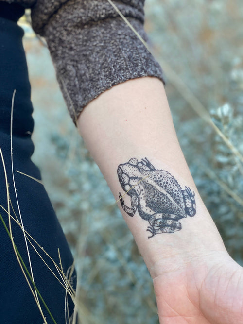 Toad Temporary Tattoo