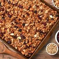 Thyroid Nourishing Granola  - a good source of Zinc, Selenium and Iodine