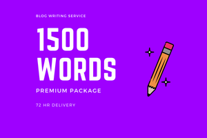 Blog Writing 1500 Words (Premium) - DucaBay