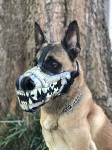 Custom Painted Muzzle