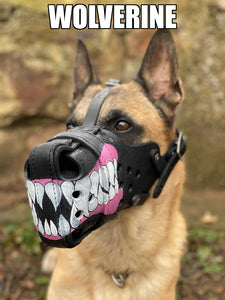 """STOCK"" Designs - Hand Painted Muzzles"