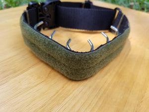 Tactical Covered Prong Collar
