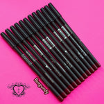 12PCS BURGUNDY LIP LINERS