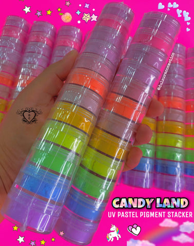 CANDY LAND UV PASTEL PIGMENT STACKER