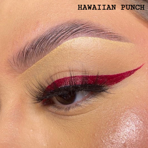HAWAIIAN PUNCH - DARK RED GRAPHIC LINER