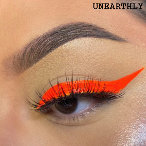 UNEARTHLY - UV ORANGE RED LINER