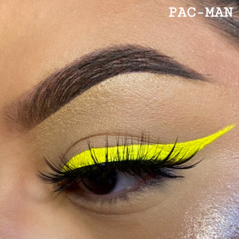 PACMAN - YELLOW GRAPHIC LINER