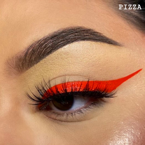 PIZZA - ORANGE RED GRAPHIC LINER