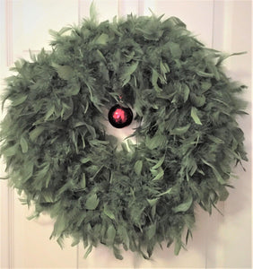 Pine Feather Wreath