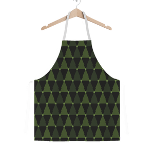 Great Christmas Tree Green Apron