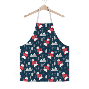 Polar Bears Skating Apron