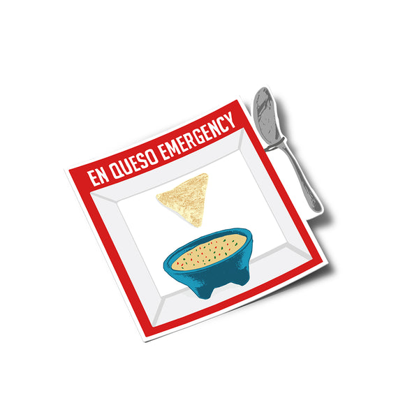 En Queso Emergency Sticker