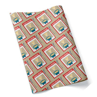 En Queso Emergency Wrapping Paper