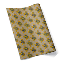 Texas Yellow Rose Wrapping Paper